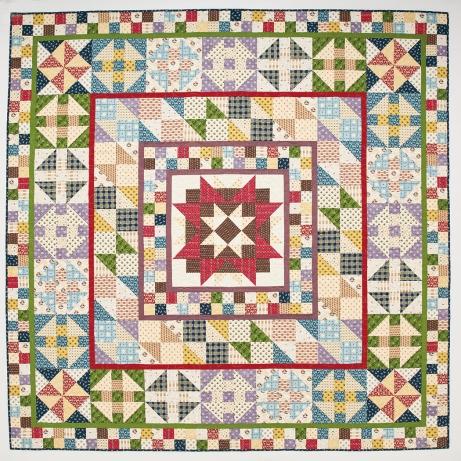 Todays Quilter Devon County quilt
