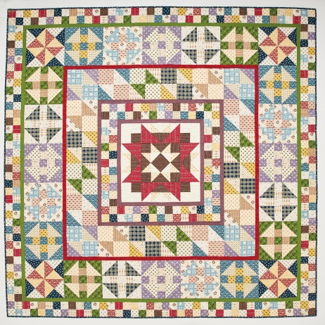 Todays Quilter Devon County quilt