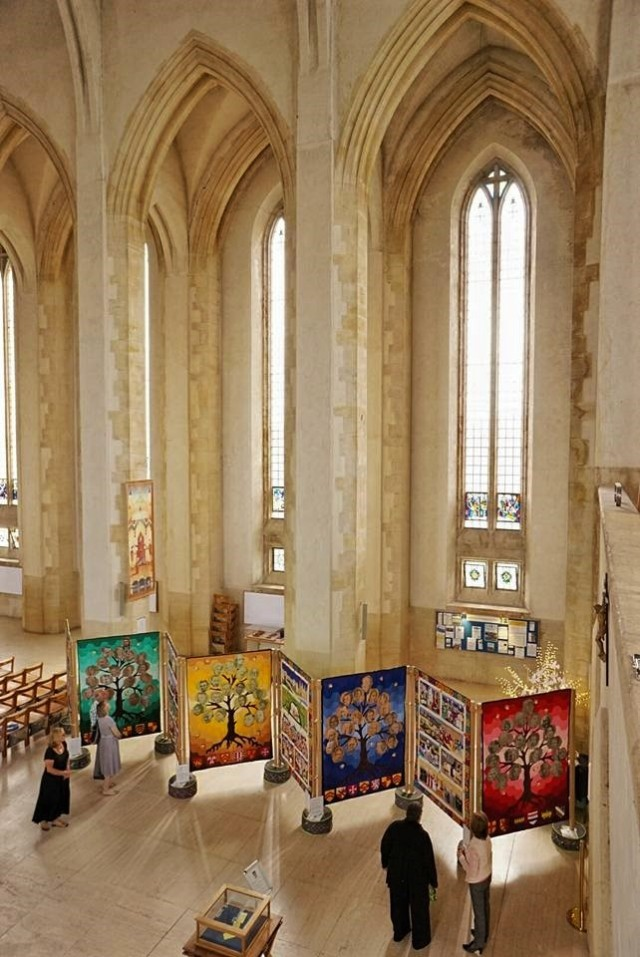 Magna Carta Quilts at Guildford Cathedral - Copy (2)