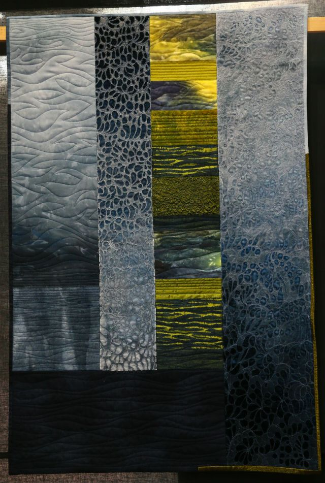 Second-Place-Contemporary-Quilts-Connie-Gilham-River