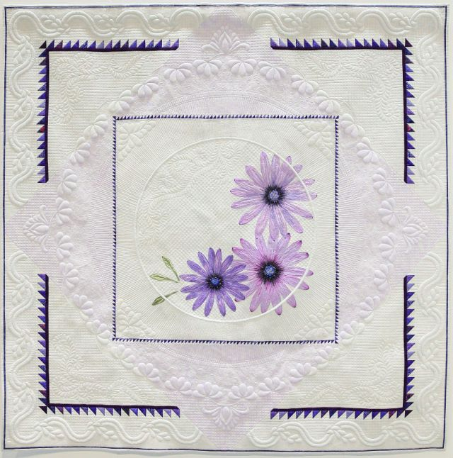 Second-Traditional-Quilts-Purple-Daisies-Robyn-Fahy