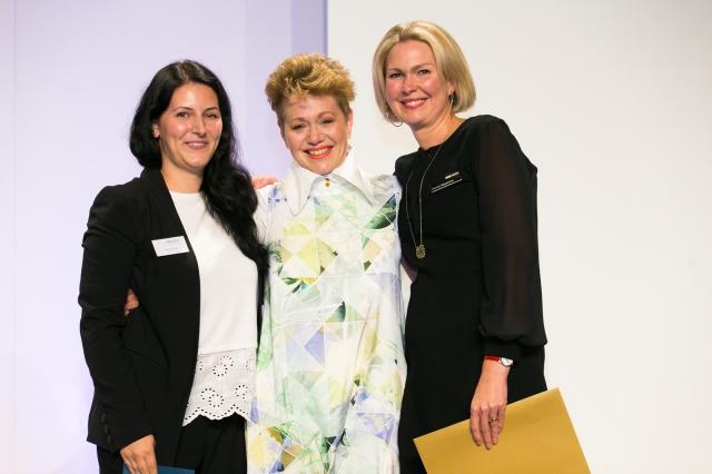 Best in Show winner Philippa Naylor with Amann Mettler 2