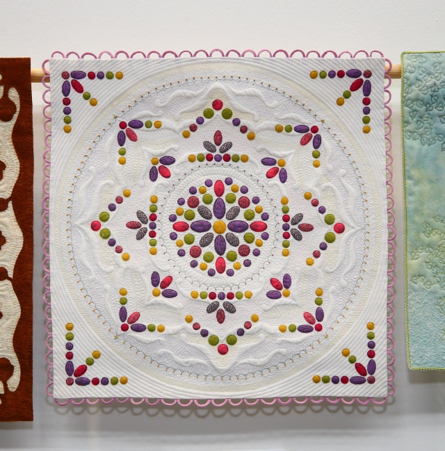 Winner of Miniature Quilts and Best In Show - Philippa Naylor - Meausre for Measure