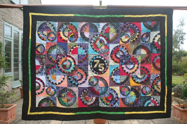 Blackminster Middle School - 75th anniversary quilt