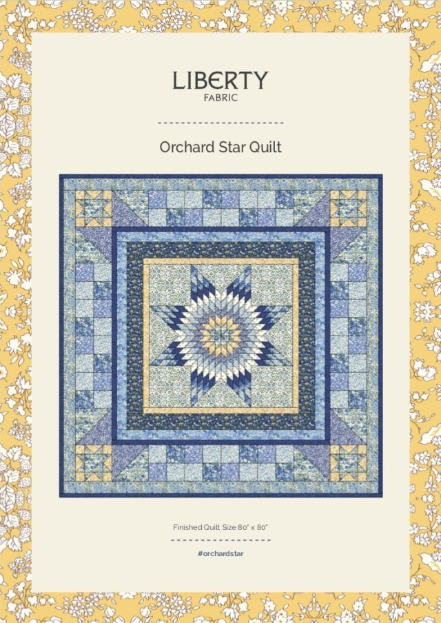 Orchard Star Quilt design