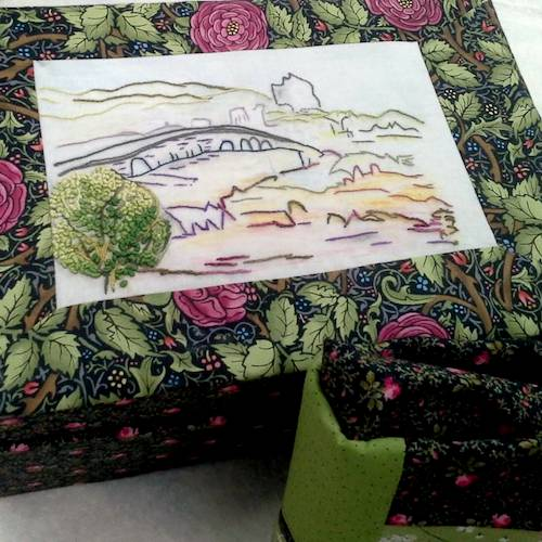 12. Jeltje Van Essen The Netherlands_Boxes Embellished with Stitchery