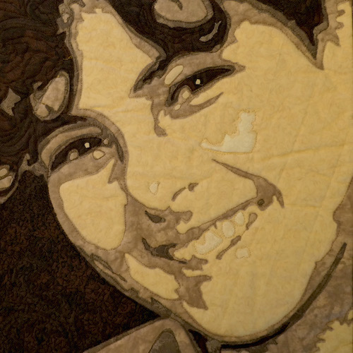 16. Lea McComas USA_Fused Applique Portrait